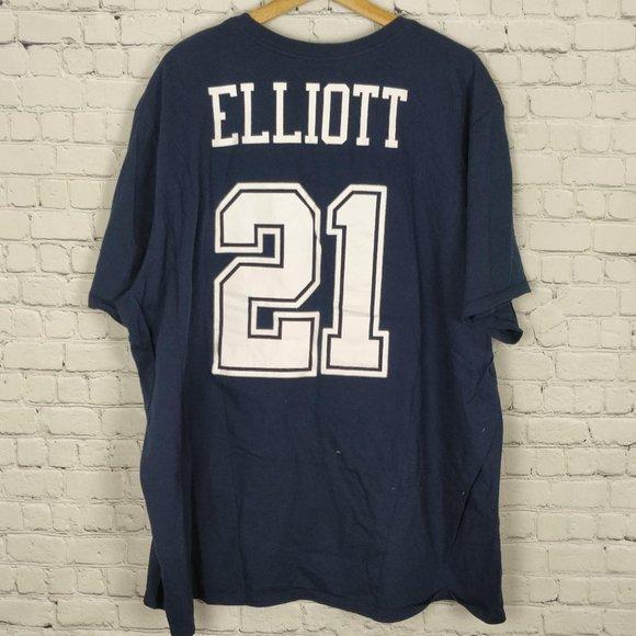 Ezekiel Elliot Dallas Cowboys Jersey Shirt 4XL